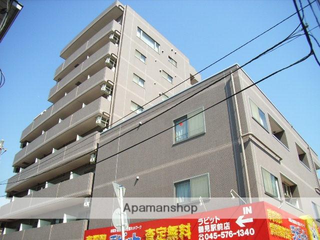 神奈川県横浜市鶴見区、鶴見駅徒歩7分の築14年 8階建の賃貸マンション