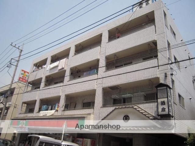 神奈川県横浜市鶴見区、鶴見小野駅徒歩3分の築33年 4階建の賃貸マンション