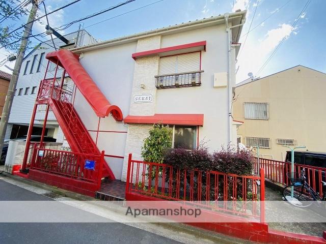 神奈川県横浜市鶴見区、国道駅徒歩12分の築49年 2階建の賃貸アパート