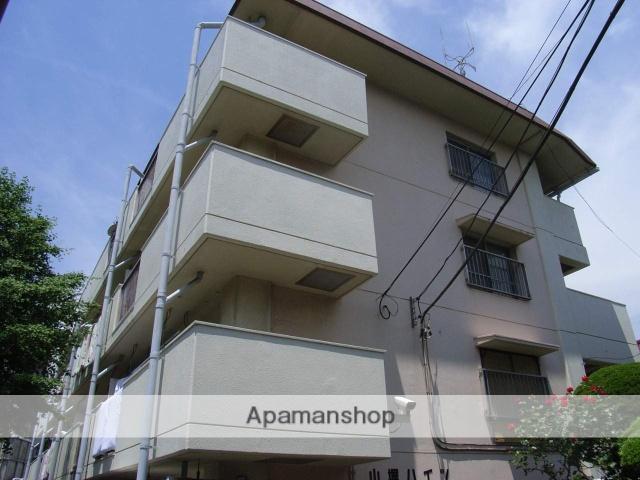 神奈川県横浜市鶴見区、国道駅徒歩1分の築36年 4階建の賃貸マンション