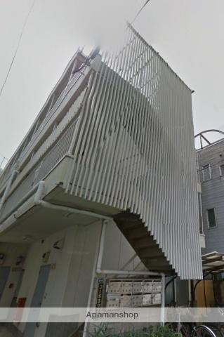 神奈川県横浜市鶴見区、鶴見駅徒歩7分の築32年 3階建の賃貸アパート