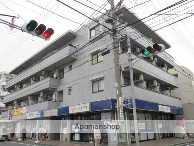 神奈川県横浜市鶴見区、尻手駅徒歩15分の築19年 4階建の賃貸マンション