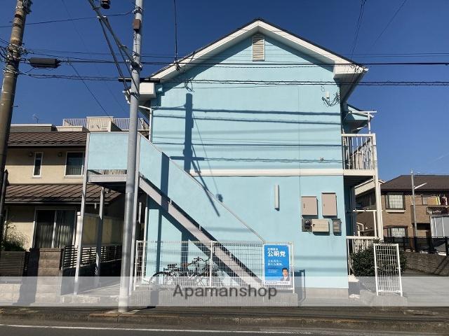 神奈川県川崎市幸区、矢向駅徒歩13分の築27年 2階建の賃貸アパート