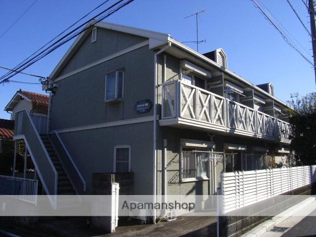 神奈川県横浜市鶴見区、鶴見駅徒歩15分の築24年 2階建の賃貸アパート
