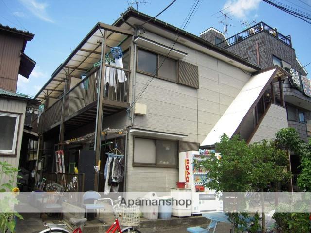 神奈川県横浜市鶴見区、弁天橋駅徒歩6分の築22年 2階建の賃貸アパート