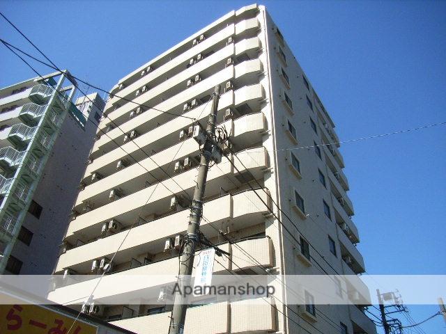 神奈川県横浜市鶴見区、国道駅徒歩1分の築28年 11階建の賃貸マンション