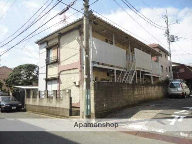 神奈川県横浜市鶴見区、尻手駅徒歩5分の築43年 2階建の賃貸アパート