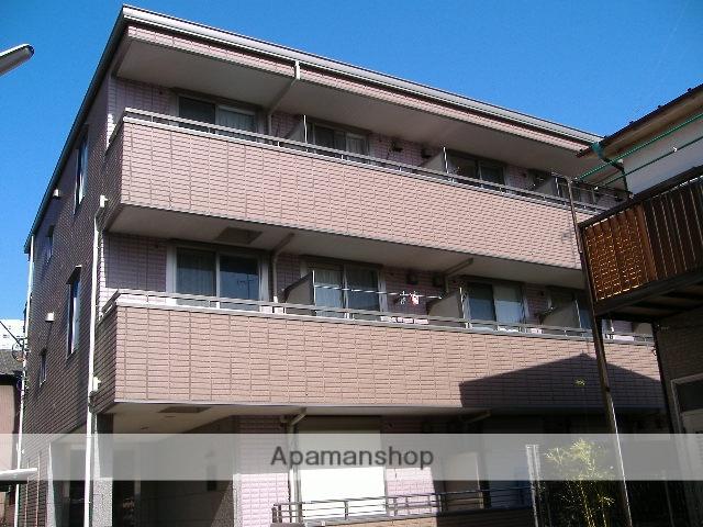 神奈川県横浜市鶴見区、鶴見駅徒歩16分の築13年 3階建の賃貸アパート