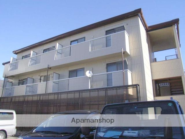 神奈川県横浜市鶴見区、新子安駅徒歩20分の築22年 3階建の賃貸アパート