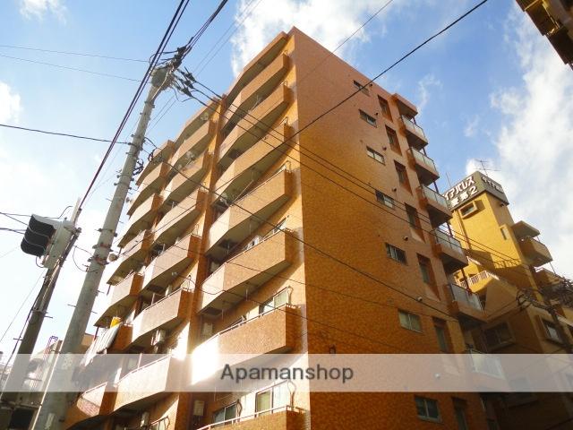 神奈川県横浜市鶴見区、新子安駅徒歩16分の築34年 8階建の賃貸マンション