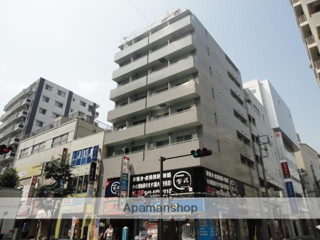 神奈川県横浜市鶴見区、国道駅徒歩13分の築25年 10階建の賃貸マンション