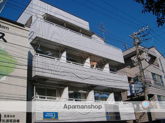 神奈川県横浜市鶴見区、鶴見小野駅徒歩2分の築25年 4階建の賃貸マンション