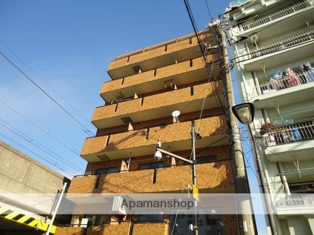 神奈川県横浜市鶴見区、国道駅徒歩7分の築28年 7階建の賃貸マンション
