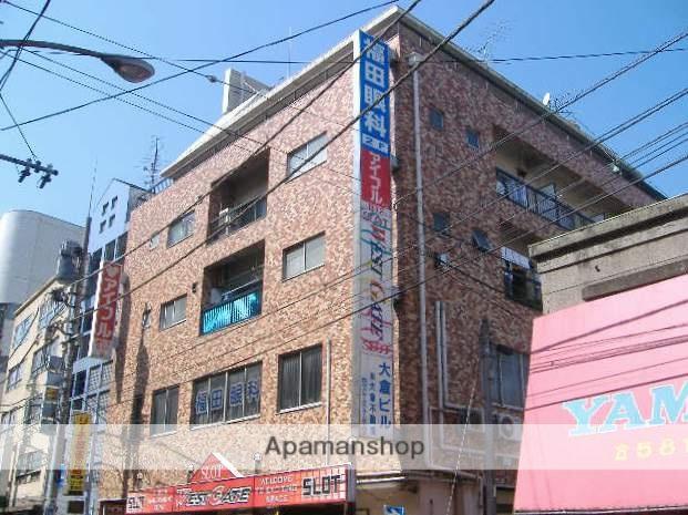神奈川県横浜市鶴見区、鶴見駅徒歩1分の築44年 5階建の賃貸マンション