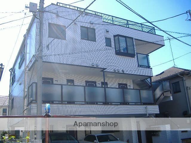 神奈川県横浜市鶴見区、尻手駅徒歩17分の築22年 3階建の賃貸マンション