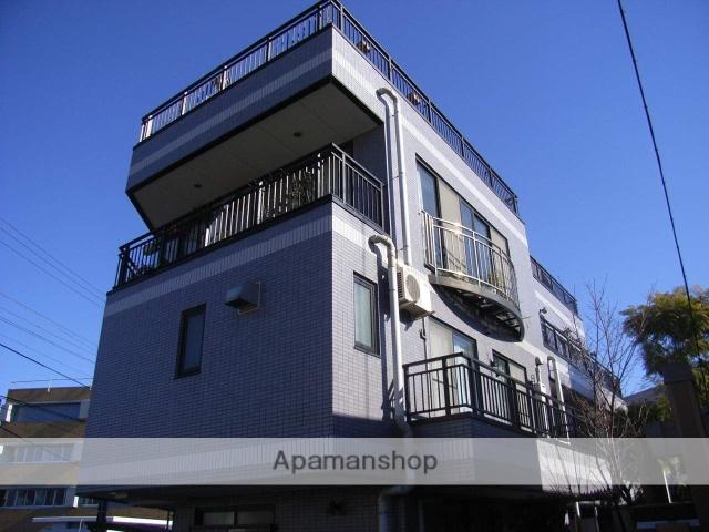 神奈川県横浜市鶴見区、鶴見駅徒歩15分の築17年 4階建の賃貸マンション