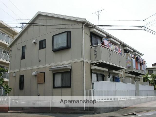神奈川県横浜市鶴見区、矢向駅徒歩4分の築25年 2階建の賃貸アパート