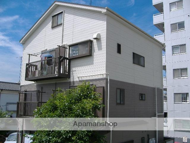 神奈川県横浜市鶴見区、鶴見駅徒歩15分の築22年 4階建の賃貸アパート