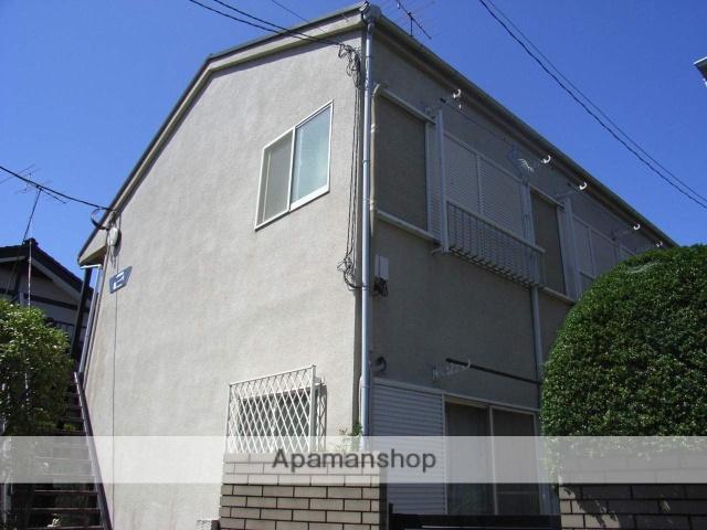 神奈川県横浜市鶴見区、鶴見駅徒歩10分の築26年 2階建の賃貸アパート