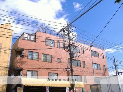 神奈川県横浜市鶴見区、鶴見駅徒歩15分の築26年 4階建の賃貸マンション