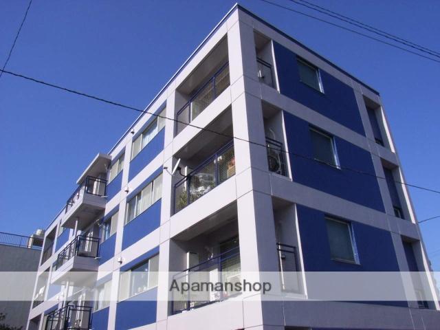 神奈川県横浜市鶴見区、国道駅徒歩1分の築26年 4階建の賃貸マンション