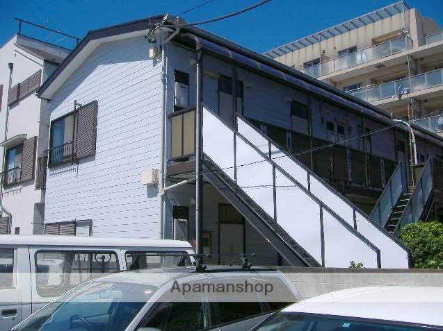 神奈川県横浜市鶴見区、鶴見駅徒歩15分の築30年 2階建の賃貸アパート