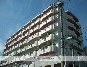神奈川県平塚市、平塚駅バス8分南真土下車後徒歩3分の築20年 8階建の賃貸マンション