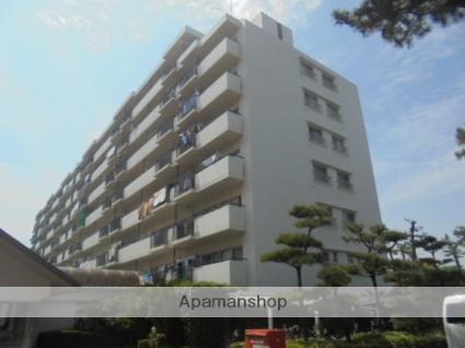 神奈川県平塚市、平塚駅徒歩17分の築33年 8階建の賃貸マンション