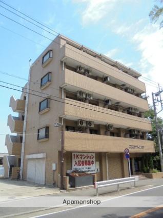 神奈川県平塚市、平塚駅バス15分上山下下車後徒歩1分の築24年 5階建の賃貸マンション