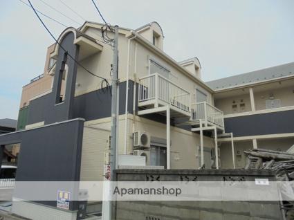 神奈川県平塚市、平塚駅徒歩20分の築25年 2階建の賃貸アパート