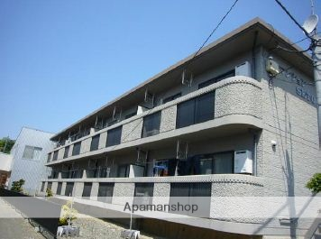 神奈川県平塚市、平塚駅バス20分坂間下車後徒歩5分の築20年 2階建の賃貸マンション