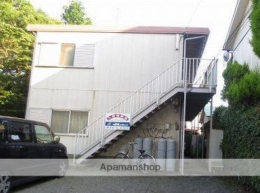 神奈川県平塚市、平塚駅徒歩14分の築35年 2階建の賃貸アパート