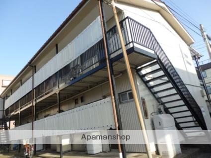 神奈川県川崎市中原区、武蔵中原駅徒歩15分の築40年 2階建の賃貸アパート