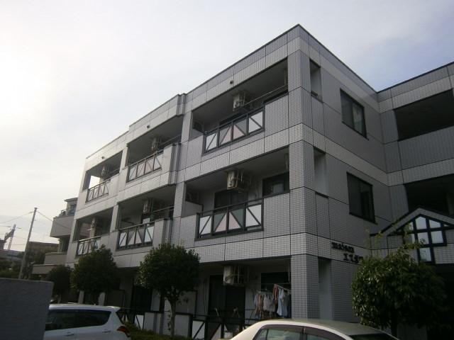 神奈川県川崎市中原区、向河原駅徒歩12分の築21年 3階建の賃貸マンション