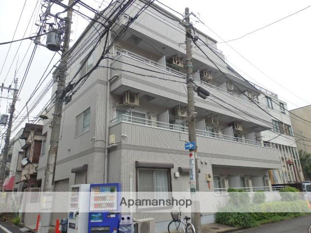 神奈川県川崎市中原区、向河原駅徒歩13分の築26年 4階建の賃貸マンション