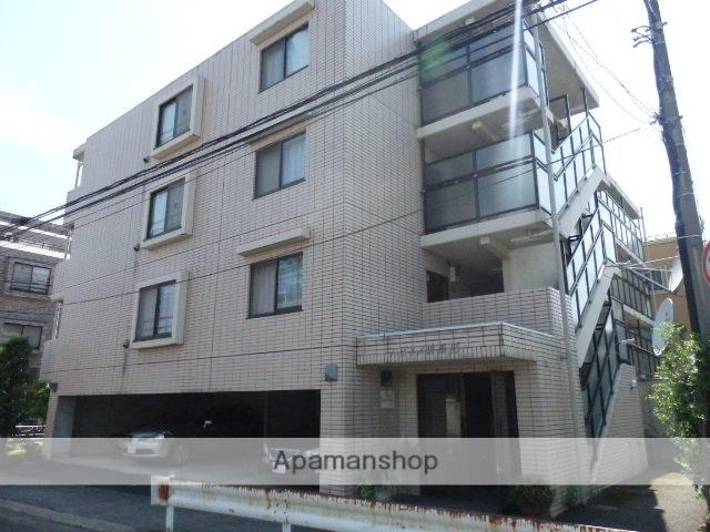 神奈川県川崎市中原区、武蔵中原駅徒歩8分の築23年 4階建の賃貸マンション
