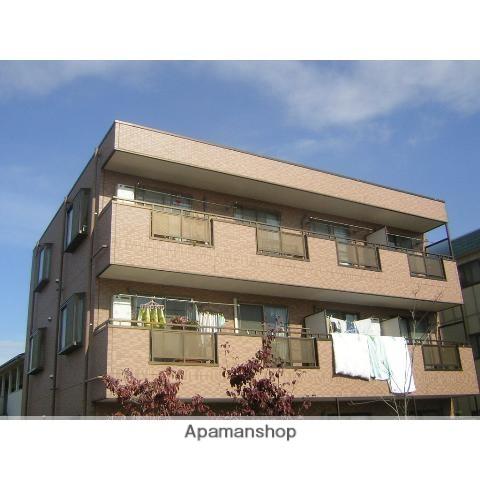 神奈川県川崎市中原区、武蔵小杉駅徒歩17分の築16年 3階建の賃貸マンション