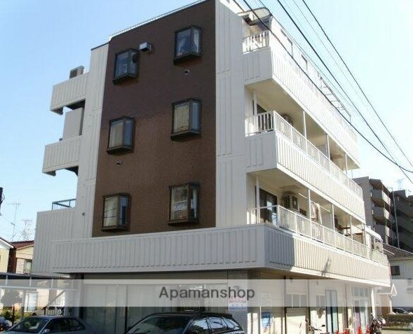 神奈川県川崎市高津区、武蔵新城駅徒歩14分の築28年 4階建の賃貸マンション