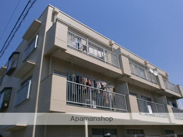 神奈川県川崎市中原区、武蔵小杉駅徒歩29分の築33年 3階建の賃貸マンション