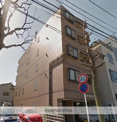 神奈川県川崎市中原区、武蔵小杉駅徒歩16分の築17年 5階建の賃貸マンション
