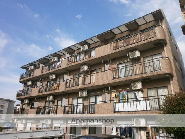 神奈川県川崎市高津区、武蔵新城駅徒歩15分の築21年 4階建の賃貸マンション