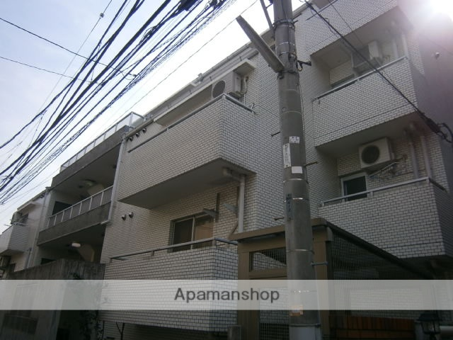 神奈川県川崎市中原区、新丸子駅徒歩8分の築28年 4階建の賃貸マンション