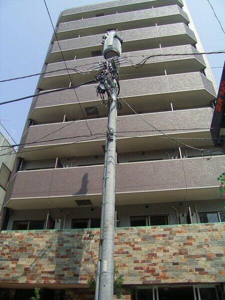 神奈川県川崎市中原区、武蔵中原駅徒歩13分の築9年 9階建の賃貸マンション