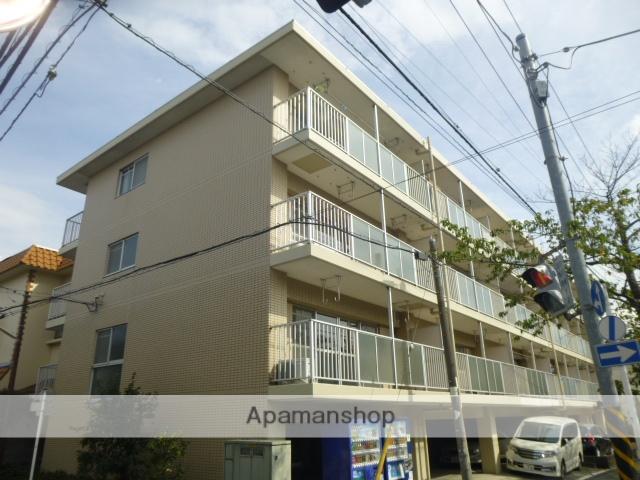 神奈川県川崎市中原区、武蔵中原駅徒歩16分の築26年 4階建の賃貸マンション