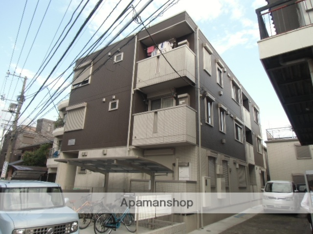 神奈川県川崎市中原区、武蔵中原駅徒歩24分の築4年 3階建の賃貸アパート