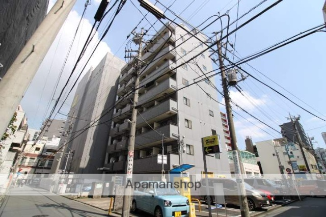 神奈川県川崎市中原区、武蔵小杉駅徒歩9分の築22年 9階建の賃貸マンション