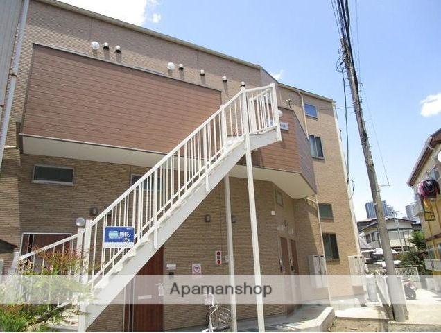 神奈川県川崎市中原区、平間駅徒歩17分の築2年 2階建の賃貸アパート