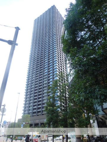 神奈川県川崎市中原区、向河原駅徒歩8分の築1年 53階建の賃貸マンション