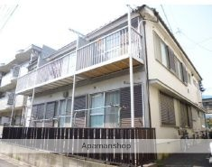 神奈川県川崎市中原区、武蔵小杉駅徒歩11分の築37年 2階建の賃貸アパート