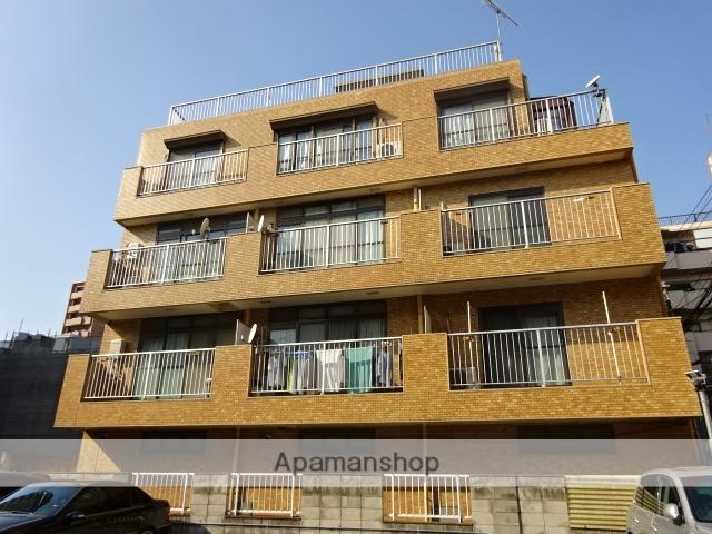 神奈川県川崎市中原区、鹿島田駅徒歩16分の築25年 4階建の賃貸マンション